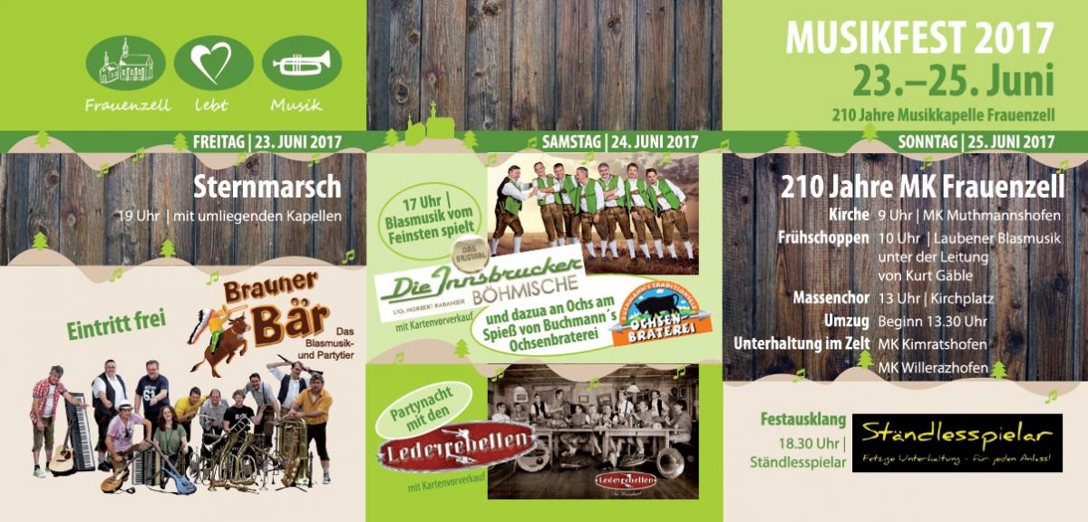 Programm Musikfest