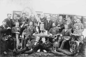 Musikkapelle im Jahr 1899